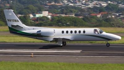 N815MA - Cessna 550B Citation Bravo - Private
