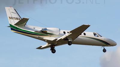 N815MA - Cessna 550B Citation Bravo - Caribe Air Charters