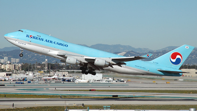 HL7448 - Boeing 747-4B5F(SCD) - Korean Air Cargo