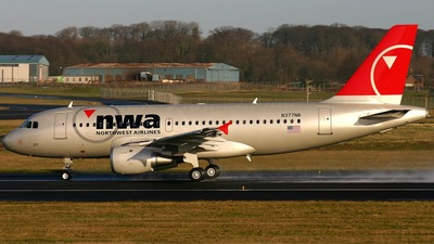 N377NB - Airbus A319-114 - Northwest Airlines
