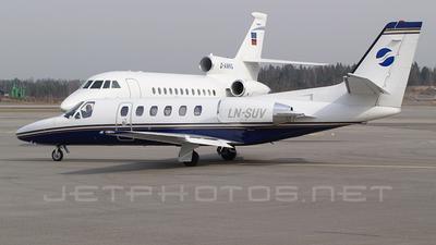 LN-SUV - Cessna 550B Citation Bravo - Sundt Air