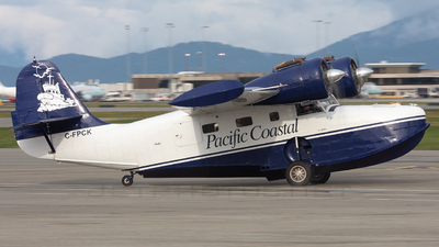 C-FPCK - Grumman G-21A Goose - Pacific Coastal Airlines