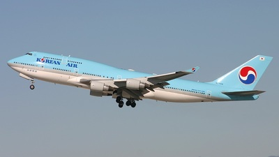 HL7404 - Boeing 747-4B5 - Korean Air