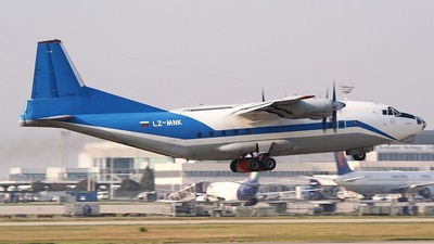 LZ-MNK - Antonov An-12BK - Scorpion Air