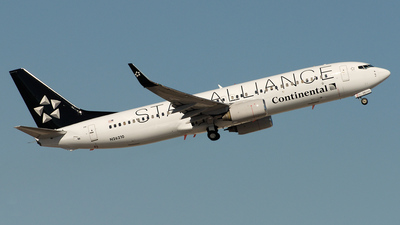 N26210 - Boeing 737-824 - Continental Airlines