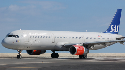 OY-KBE - Airbus A321-231 - Scandinavian Airlines (SAS)