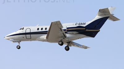 C-GAAA - Hawker Siddeley HS-125-700A - Private
