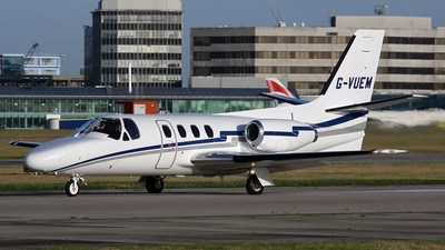 G-VUEM - Cessna 501 Citation - Private