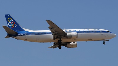 SX-BKM - Boeing 737-4Q8 - Olympic Airlines