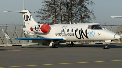 D-CMAX - Bombardier Learjet 55 - United Nations (UN)