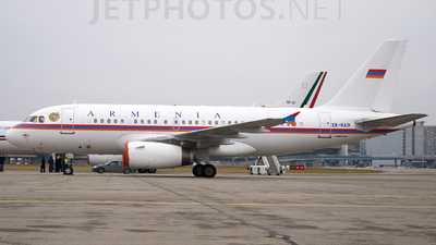EK-RAOI  - Airbus A319-132(CJ) - Armenia - Government