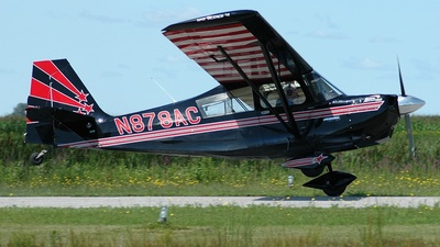 N878AC - American Champion 8KCAB Super Decathlon - Private