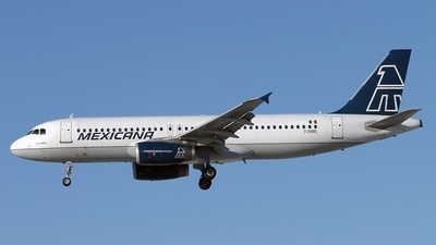F-OHML - Airbus A320-231 - Mexicana