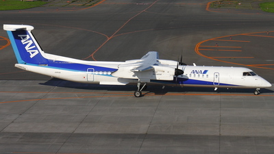 JA854A - Bombardier Dash 8-Q402 - All Nippon Airways (Air Central)