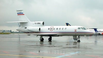 YU-BNA - Dassault Falcon 50 - Serbia and Montenegro - Air Force