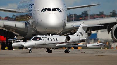 VH-JCX - Bombardier Learjet 36A - Jet City