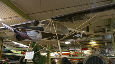 D-EMWF - Fieseler Fi156C-3 Storch - Private