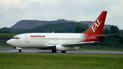 G-CEAD - Boeing 737-229(Adv) - European Aviation (EAL)