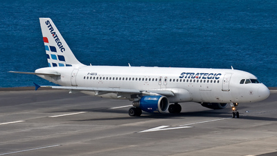 F-GSTS - Airbus A320-212 - Strategic Airlines