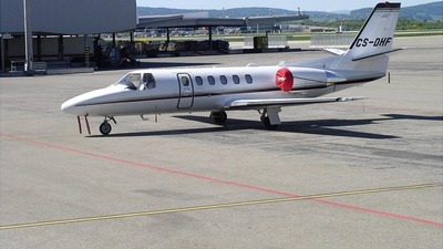 CS-DHF - Cessna 550B Citation Bravo - NetJets Europe