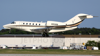 N915RB - Cessna 750 Citation X - Private