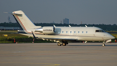 N495BA - Bombardier CL-600-2B16 Challenger 601-3A - Private