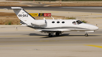 4X-DFZ - Cessna 510 Citation Mustang - Private