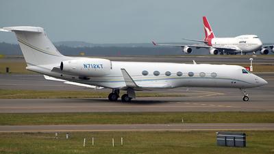 N712KT - Gulfstream G550 - Private