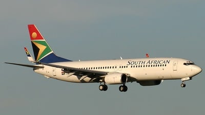 ZS-SJF - Boeing 737-85F - South African Airways