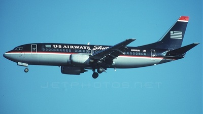 N395US - Boeing 737-3B7 - US Airways Shuttle