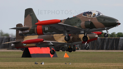G-MXPH - British Aircraft Corporation BAC 167 Strikemaster - Private