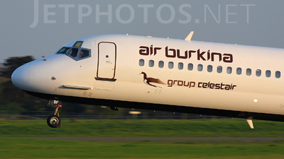 XT-ABF - McDonnell Douglas MD-83 - Air Burkina
