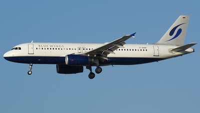 D-ANNF - Airbus A320-232 - Blue Wings