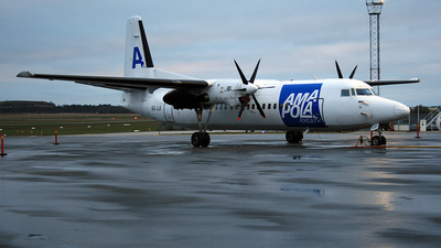 SE-LJI - Fokker 50 - Amapola Flyg