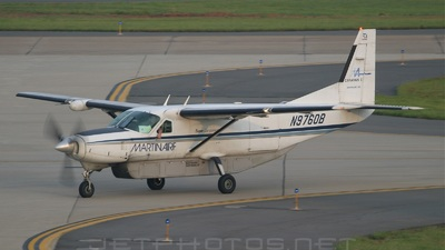 A picture of N9760B - Cessna 208B Super Cargomaster - Martinaire - © Blend Qatipi