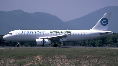 EI-TLT - Airbus A320-211 - Andalusair (TransAer International Airlines)