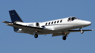 A picture of N89D - Cessna 550 Citation II - [5500056] - © Michael Karch