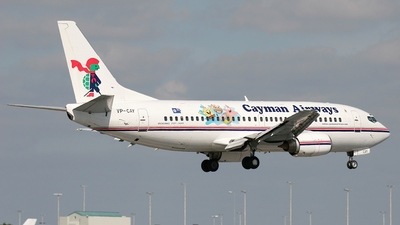 VP-CAY - Boeing 737-3Q8 - Cayman Airways