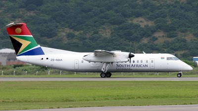 ZS-NMA - Bombardier Dash 8-315 - South African Express