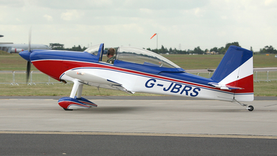 G-JBRS - Vans RV-8 - Private