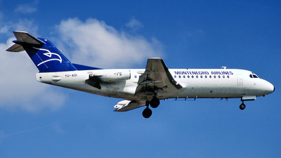 YU-AOI - Fokker F28-1000 Fellowship - Montenegro Airlines