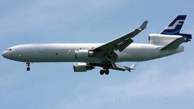 OH-LGC - McDonnell Douglas MD-11(F) - Finnair Cargo