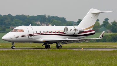 VP-CHU - Bombardier CL-600-2B16 Challenger 604 - Private