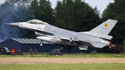 FA-119 - General Dynamics F-16AM Fighting Falcon - Belgium - Air Force