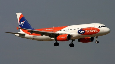 G-SSAS - Airbus A320-231 - MyTravel Lite