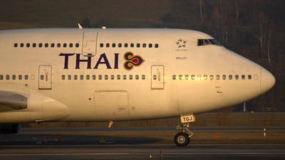 HS-TGJ - Boeing 747-4D7 - Thai Airways International