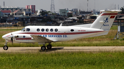 VN-B594 - Beechcraft B200 Super King Air - Vietnam Air Services Company (VASCO)