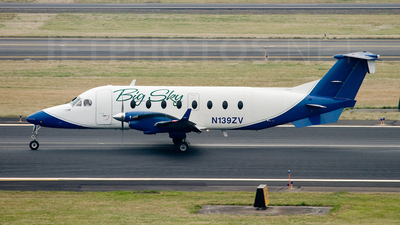N139ZV - Beech 1900D - Big Sky Airlines