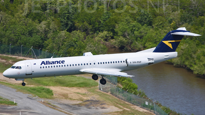 VH-FKF - Fokker 100 - Alliance Airlines