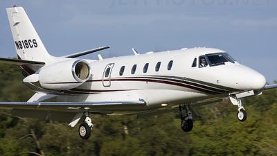 N916CS - Cessna 560XL Citation Excel - Private